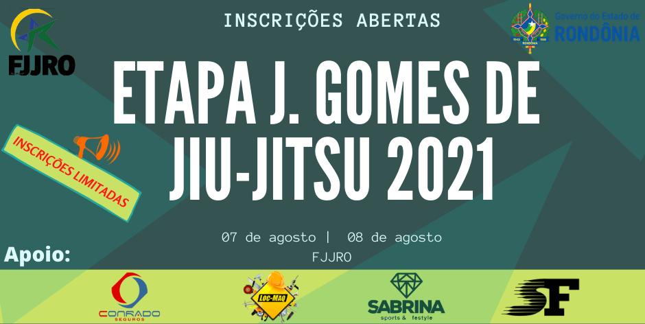 Etapa J. Gomes de Jiu-Jitsu 2021