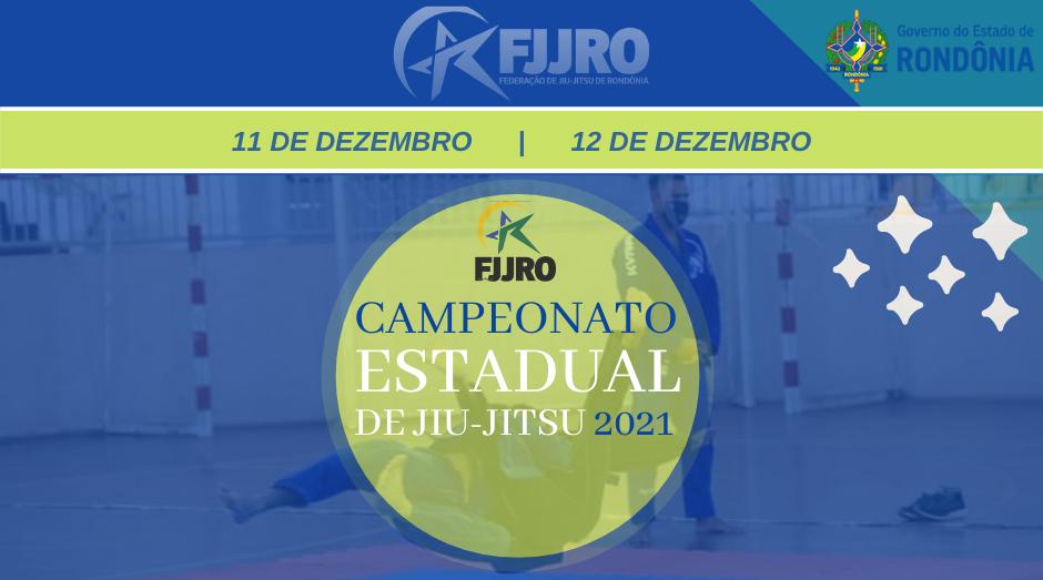 Campeonato Estadual de Jiu-Jitsu 2021